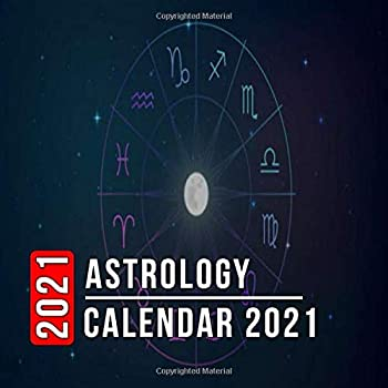 Astrology Calendar 2021  12 Month Mini Calendar from Jan 2021 to Dec 2021 Cute Gift Idea | Pictures in Every Month