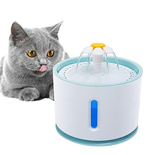 Hond Water Fontein Huisdier Fontein Kat Drinkfontein Huisdier Water Dispenser Pet Water Drinken Fontein Kat Water Kom blue,eu