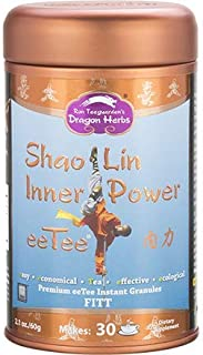 Dragon Herbs Shaolin Inner Power eeTee - Premium Tea Instant Granules - Dietary Supplement - 2.1 oz - 60 grams - 30 servin...