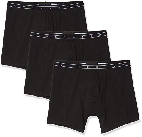 Scotch & Soda Herren Underwear 3 Pack Boxershorts, Mehrfarbig (Combo D 0220), (Herstellergröße:M) (3er Pack)