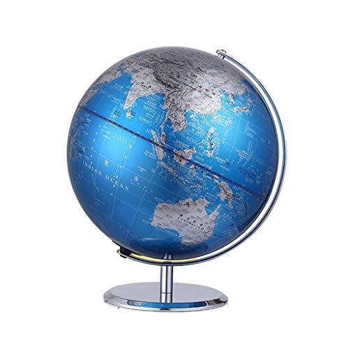 Metal Globe enseigne aux étudiants à utiliser l'étude de décoration de décoration de bureau pour enfants de bureau (Taille : 20cm)