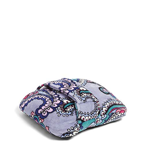 Vera Bradley Fleece Travel Blanket with Trolley Sleeve, Kona Paisley