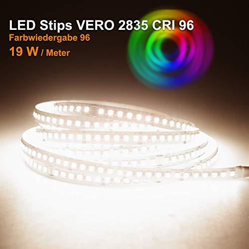 LED Streifen VERO Mextronic LED Streifen LED Band LED Strip VERO Neutralweiß (4000k) CRI 96 96W 5 Meter 24V IP20