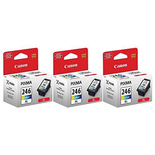 Price comparison product image 3 X Canon CL-246XL Color Cartridge,  Compatible to:MX492,  PIXMA MG2420,  PIXMA MG2520,  PIXMA MG2920,  PIXMA MG2922,  PIXMA MG2924,  PIXMA MX492,  PIXMA iP2820