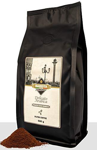Barista Italiano - Gemalen Koffie - 100% Colombiaanse Arabica (500g Filterkoffie)