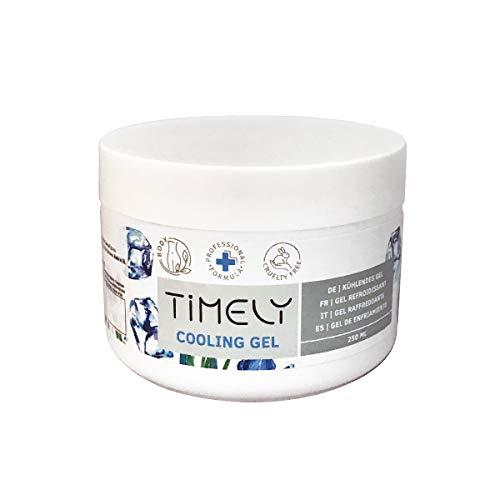 Timely - Gel rafraîchissant pour les douleurs musculaires, 250 ml