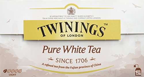 Twinings of London Té Blanco 25 saquitos