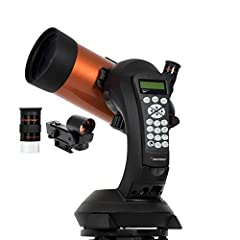 Nexstar computerized telescope: The NexStar 4SE Computerized Telescope features Celestron's iconic orange tube design with updated technology and the latest features for amazing stargazing for beginners and experienced observers. 4-Inch aperture: The...