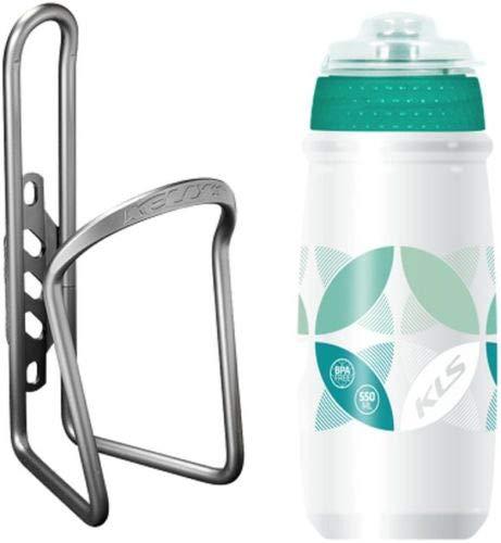 Kellys Kinderfahrrad Flaschenhalter mit Flasche Atacama BPA frei Ratio 0,5 Bunt, Farbe:Türkis