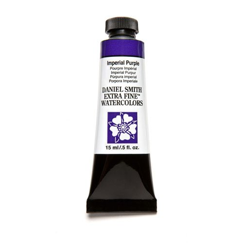 DANIEL SMITH Extra Fine Watercolor 15ml Paint Tube, Imperial Purple