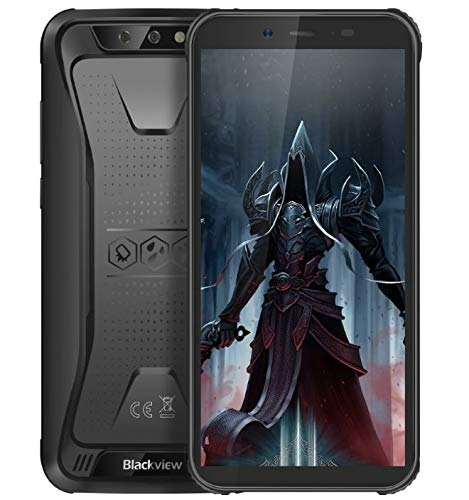 Blackview BV5500 Pro Robustes Telefon Android 9.0 Outdoor-Smartphone Ohne Vertrag, IP68 wasserdicht 4G Dual-SIM-Handy, 5,5