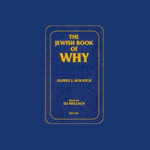 The Jewish Book of Why audiobook cover art