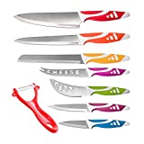 Kitchen Knife Set Chef Knives - 8pc Gift Knive Sets - Stainless Steel...