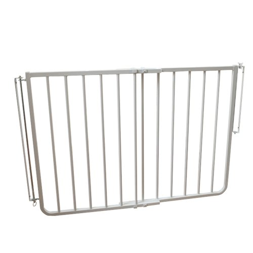 "Cardinal Gates Stairway Angle Baby Gate 27""-41.5"", White"