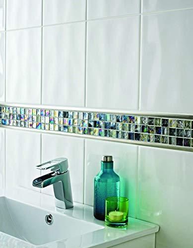 HomeLux HMOSGLGIN Mosaico, Perlescente, 30x30cm