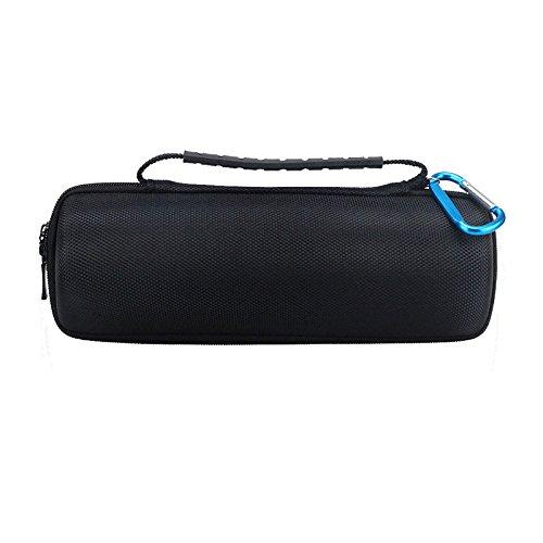 XZANTE Estuche Duro Bolsa De Almacenamiento De Transporte De Viaje para Jbl Flip 4 / Jbl Flip 3 Altavoz Portátil Inalámbrico Bluetooth. Se Adapta Al Cable USB Y Al Cargador De Pared