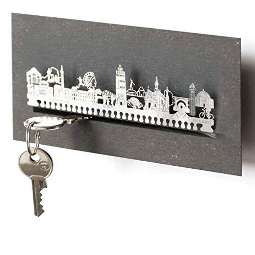 13gramm Darmstadt-Skyline Schlüsselbrett Souvenir in der Geschenk-Box