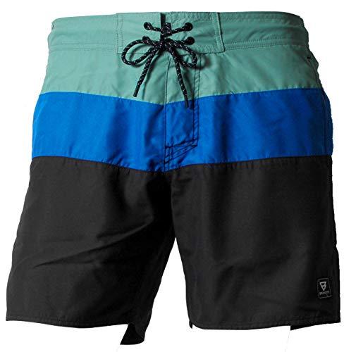 Brunotti Herren SS19 Catamaran Mens Shorts Badeshort, Black, L