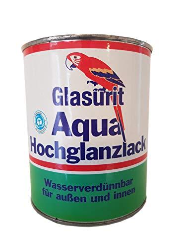 Glasurit Aqua RAL1021 - Vernice lucida per interni ed esterni, 0,75 l, colore: Giallo