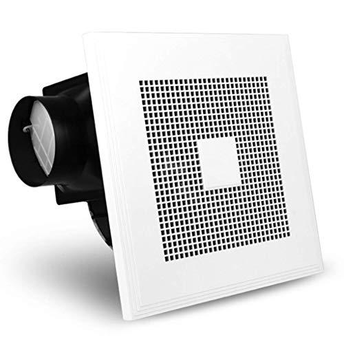 LXZDZ Ventilador de ventilación - Ventilador de ventilación montado en el techo con sensor dual de movimiento y humedad