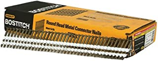 BOSTITCH RH-MC14815G-S Thickcoat Round Head 1-1/2-Inch-by-.148-Inch-by-21-Degree Plastic Collated Metal Connector Nail (1,000 per Box)