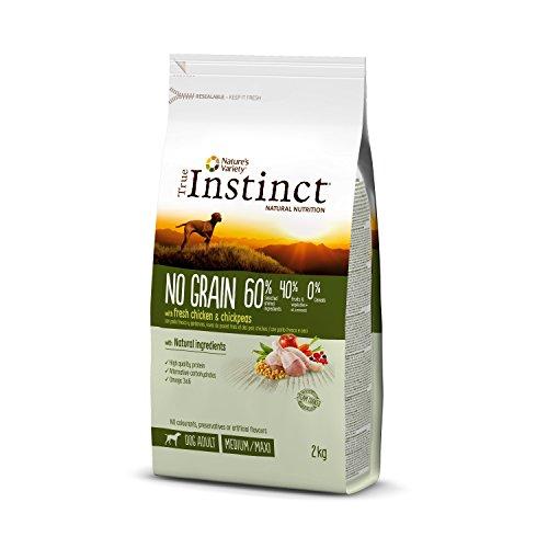 True Instinct sans Céréales Adult Medium-Maxi Poulet Nourriture pour Chien 2 kg