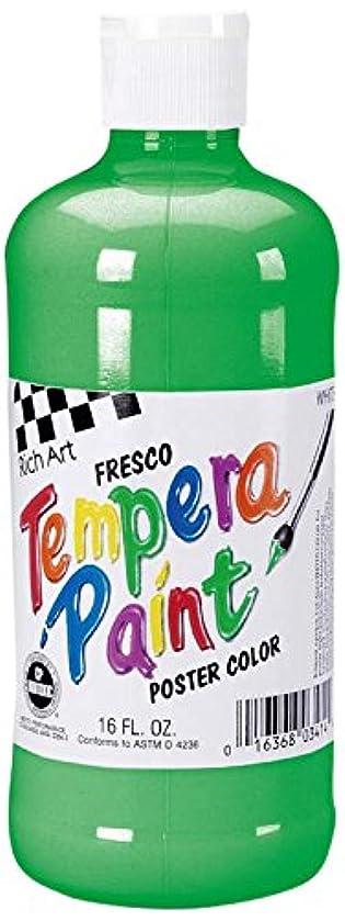 Darice Rich Art Fresco Tempera Paint - Green - 16 oz