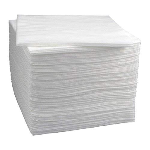 LAnny 100 Einweg-Handtücher für Friseur- und Ästhetik-Bedarf, 40 x 80 cm, Trockentücher, groß, saugfähig, aus Papier