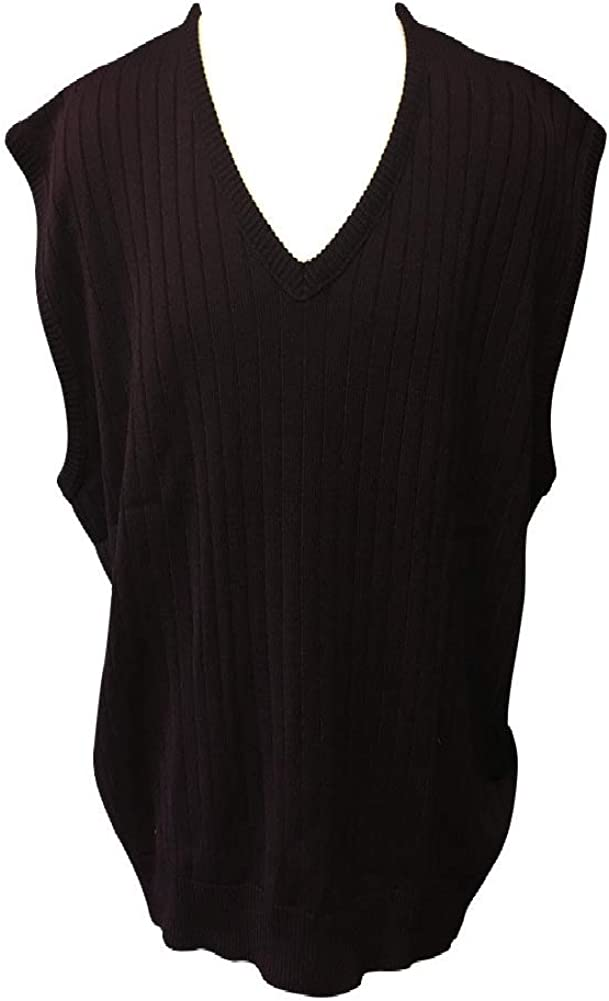Cotton Traders Big and Tall D'Avila Acrylic Sweater Vest