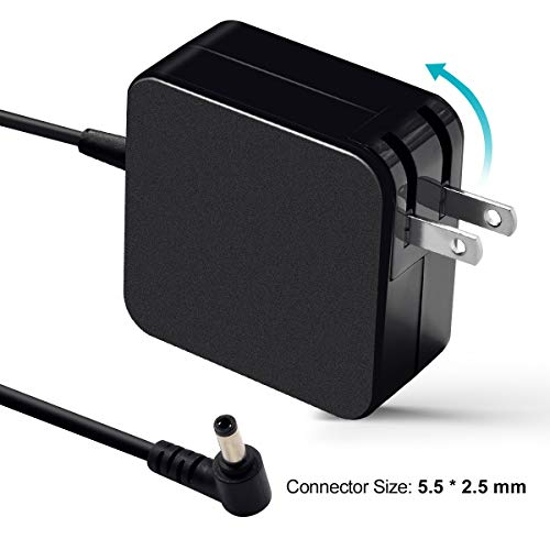 Tinkon 65W AC Laptop Adapter Charger Power Supply for Asus X551 X551C X551CA X551M X551MA X550 X550C X550CA X555L X555LA S300C S400CA S500CA Series