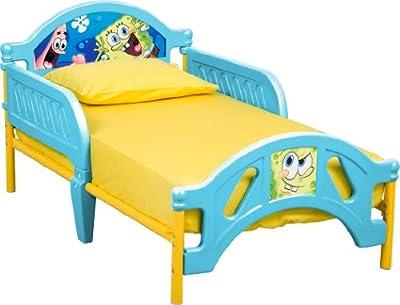 Delta Children Plastic Toddler Bed, Nickelodeon SpongeBob SquarePants