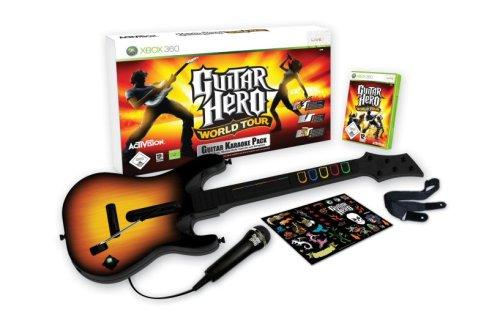 Guitar Hero: World Tour - Karaoke Bundle (inkl. Gitarre + Mikrofon)