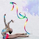 ZEEREE 6pcs,palos de gimnasia rítmica,4 metros de largo,adecuados para entrenar adultos/niños/danza artística,el equipo entrenado en el gimnasio puede hacer ejercicio y mantener la coordinación física