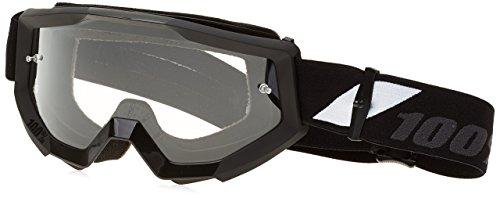 Unbekannt Goliath 100% Strata Brille Unisex Erwachsene MTB, Schwarz