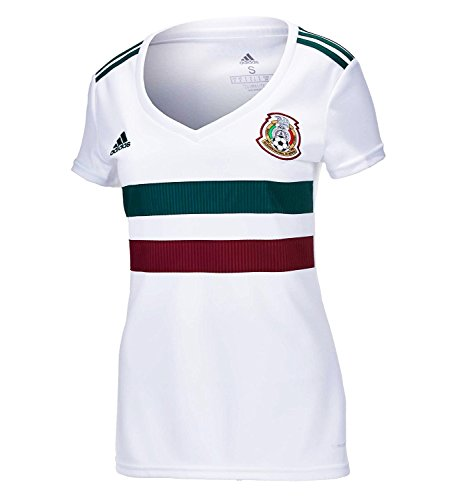 adidas Mexico Away Women's Soccer Stadium Jersey World Cup Russia 2018 (S)