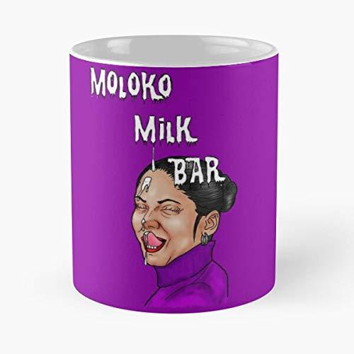 Archetypethemes Facial Moloko Bar Orange Blowjob Perverse Clockwork Milk Best 11 oz Kaffeebecher - Nespresso Tassen Kaffee Motive