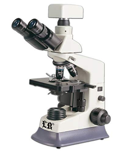 Labomed LB-237 Binocular Bio Digital Microscope with Turret Phase Contrast Kit & LED
