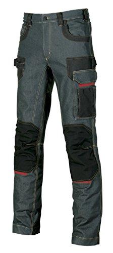 P EX069RJ-44 U-Power EX069RJ-44-Pantaloni della Gamma Exciting Modello Platinum Button ruggine Taglia 44, Rust Jeans, 40 Uomo