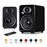 Steljes Audio NS3 Powered Loud Speakers Bookshelf Stereo System 45W RMS 60Hz to 20kHz British Design Connect...