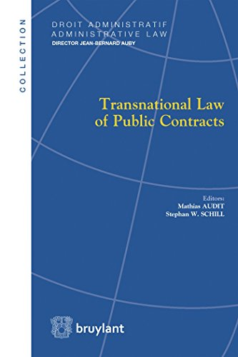 Compare Textbook Prices for Transnational Law of Public Contracts LSB. DR.ADM.LAW French Edition  ISBN 9782802744061 by