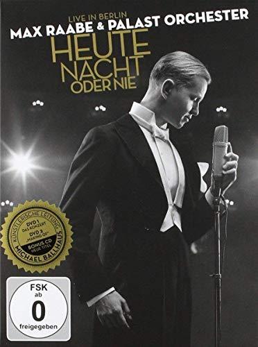 Max Raabe & Palastorchester - Heute Nacht oder nie: Live in Berlin (+ CD) [3 DVDs]