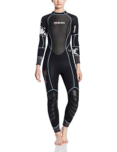 Mares Damen 3Reef 3tauchversuchen Neoprenanzug, Damen, schwarz/schwarz, Size S3