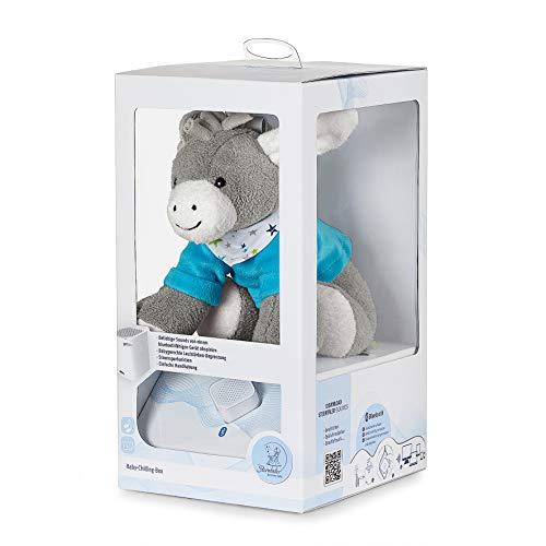 Sterntaler Chilling Box Erik, Digitale Spieluhr, inklusive Bluetooth-Lautsprecher und USB-Kabel, Alter: Babys ab der Geburt, 20 x 20 x 8 cm, mehrfarbig