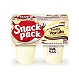 Snack Pack Vanilla Pudding Cups, 4 Count, 12 Pack