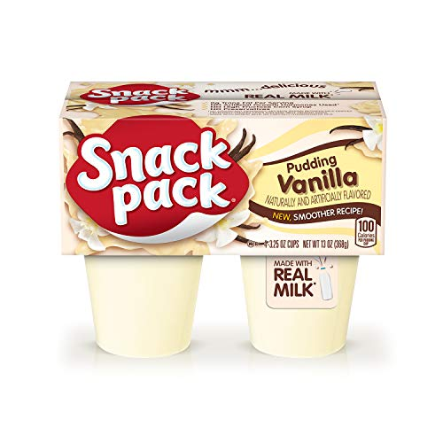Snack Pack Vanilla Pudding Cups, 12 Pack Now $8.32