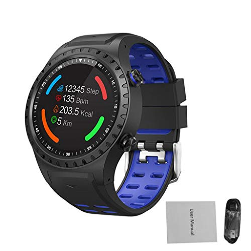 WHKNY Orologio Intelligente GPS Sport Watch Bluetooth Chiamata Multi-Sport modalità Bussola Smart Watch Altitudine Sport all'Aria Aperta Smart Watch