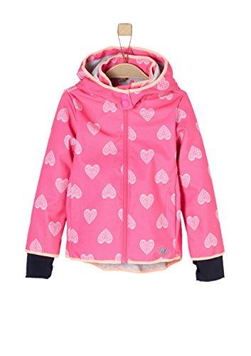 s.Oliver Mädchen 58.802.51.2442 Jacke, Rosa (Pink AOP 44A3), 98
