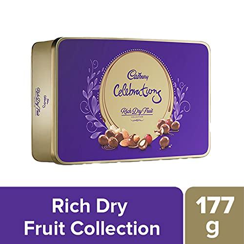 Cadbury Celebrations Rich Dry Fruit Chocolate Gift Box, 177 g 2