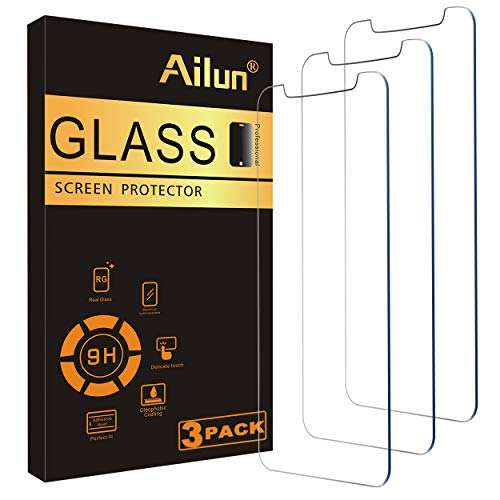Ailun Glass Screen Protector for iPhone 11/iPhone XR, 6.1...