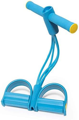 JOSEKO Multifunktions Sportgerät Pedal Allgemeine Fitnessgeräte Training Bauchkraft Beine Übung Bodybuilding Expander für Bauch Übungen Bauch Übung Werkzeug Blau